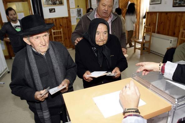 Las mejores imágenes de la jornada electoral