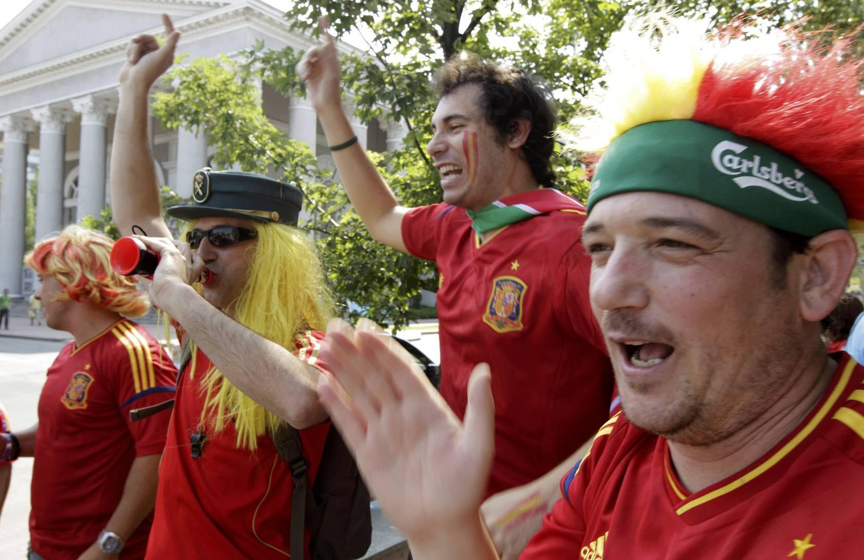 España gana por las calles de Donetsk