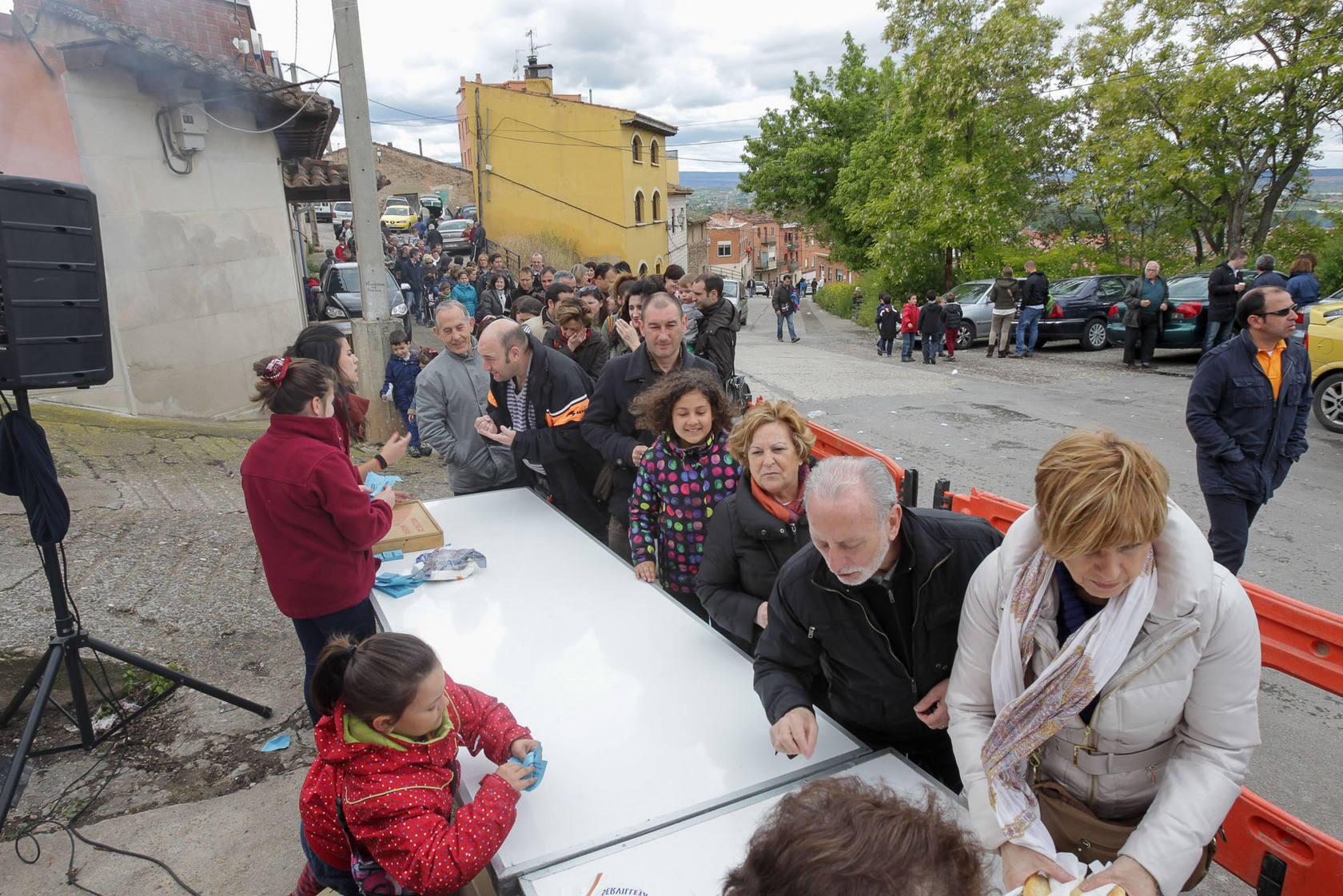 Villamediana celebra San Isidro con actos como una degustaci&oacute;n