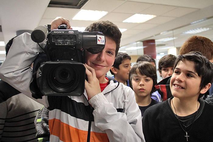 Alumnos de 2ºD de la ESO del Instituto Escultor Daniel