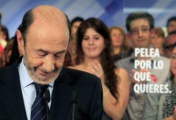 El PSOE obtiene los peores resultados de su historia