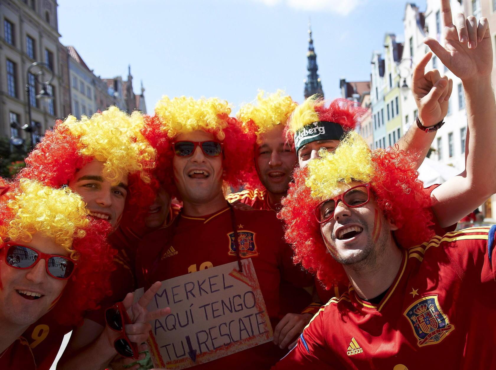 Las calles de Gdansk se llena de colorido español y croata