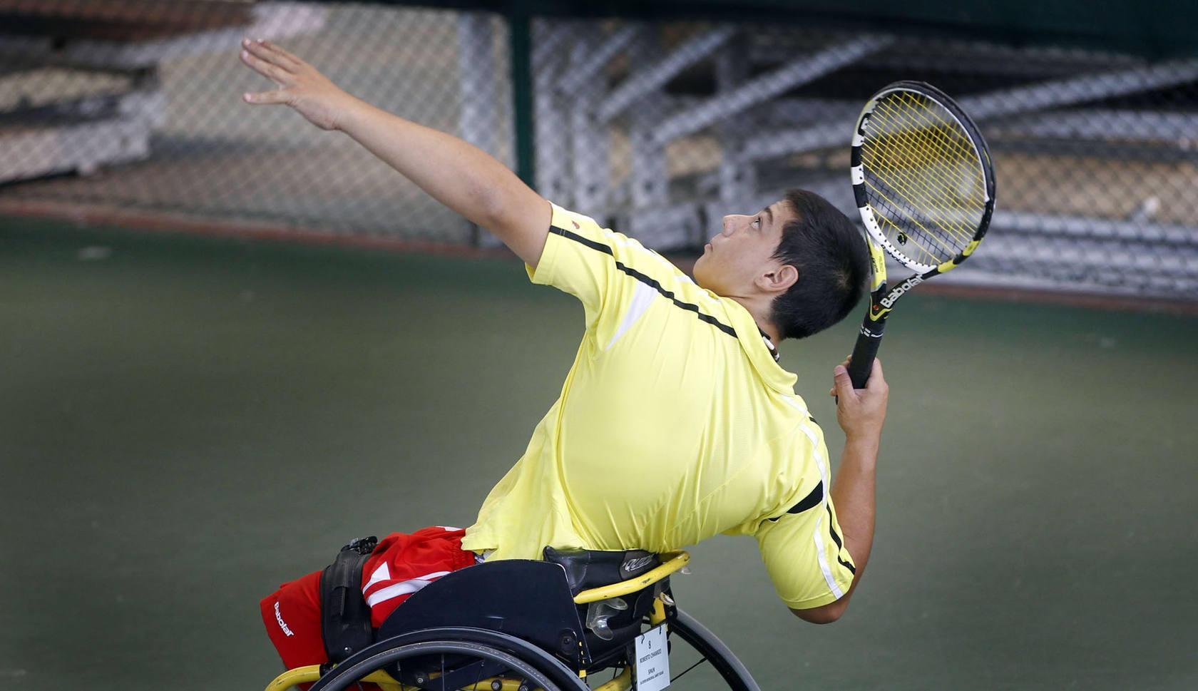 Mañana para la integración: tenis en silla