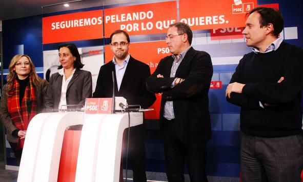 El PSOE riojano comparece tras conocer su derrota