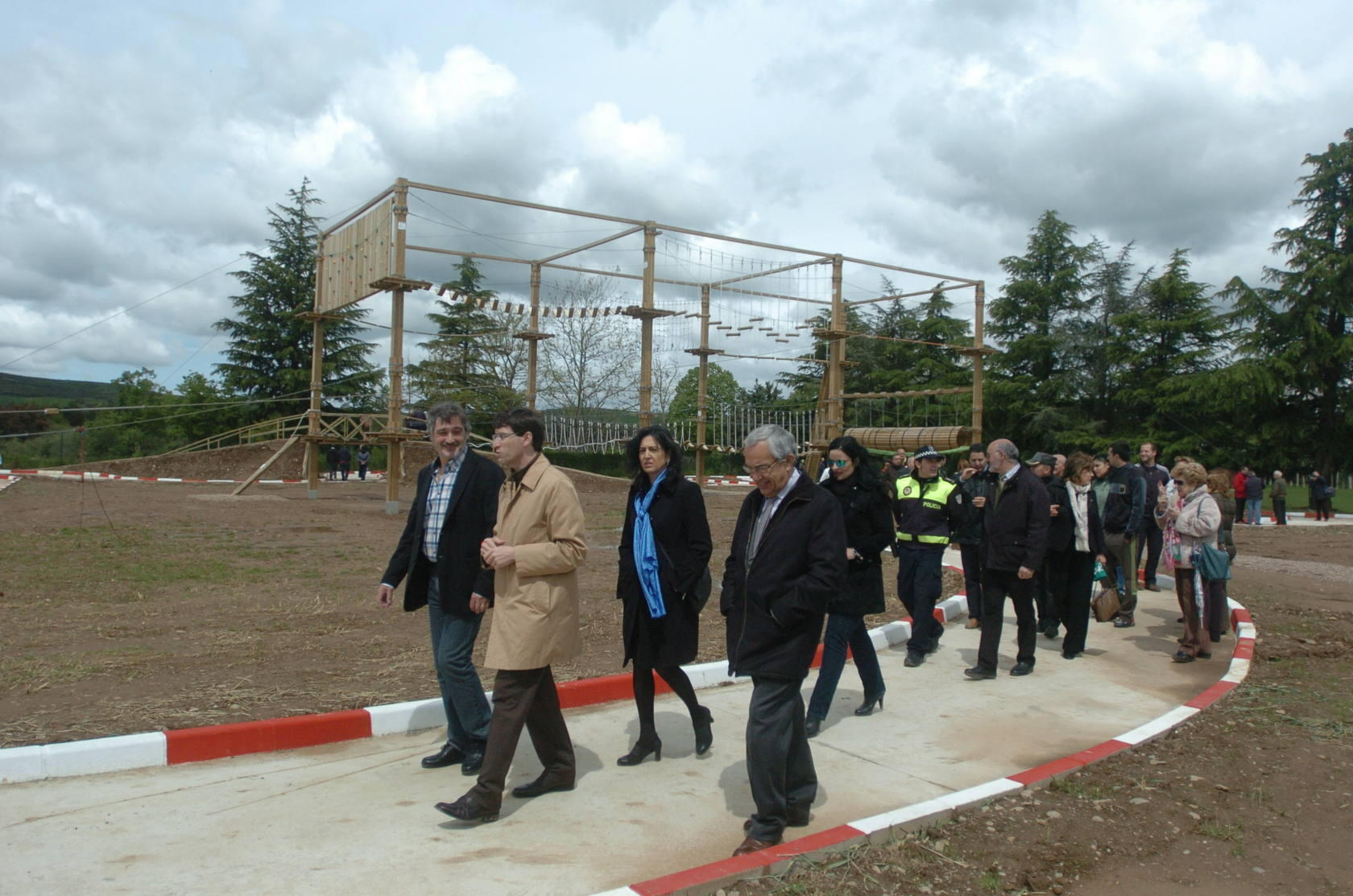 Inauguraci&oacute;n del parque infantil 'Ojapark', de Santo Domigo