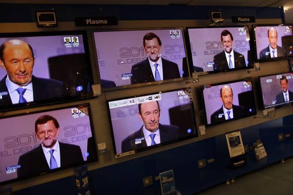 El debate entre Rajoy y Rubalcaba