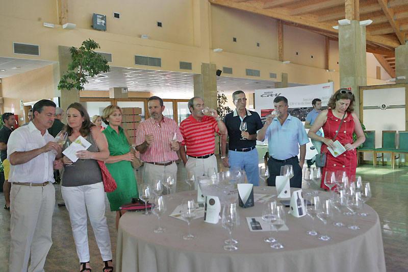 Entrega de premios del Torneo Patrocinadores de la liga Golf y Vino de lomejordelvinoderioja.com