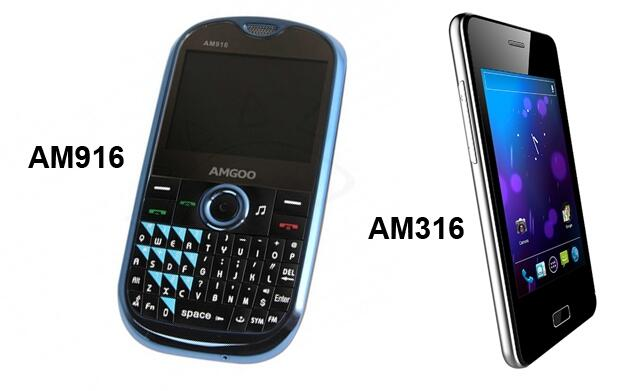 Cambia de móvil: teléfono libre Amgoo