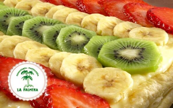 Tarta de Frutas Exquisita de La Palmera