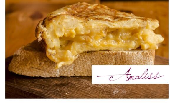 Tortilla de patata casera de Amaliss