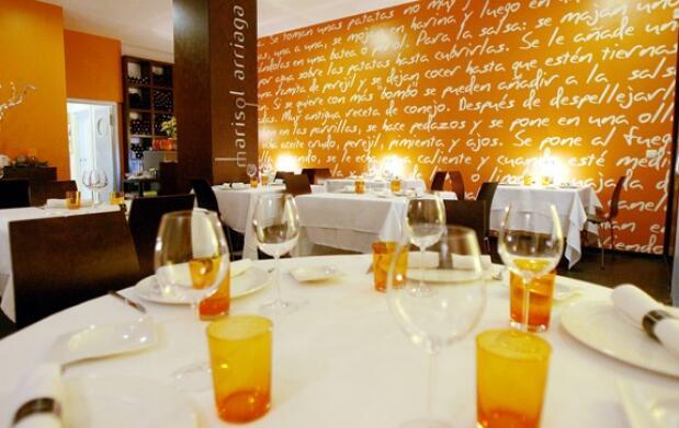 Menú de lujo en Marisol Arriaga