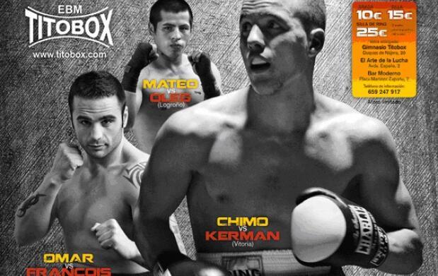 Gran velada de boxeo en Logroño