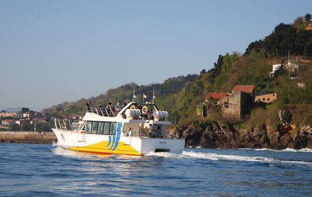 Paseos en catamarán