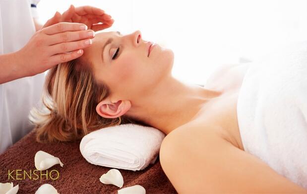 Tratamiento facial con chocolaterapia