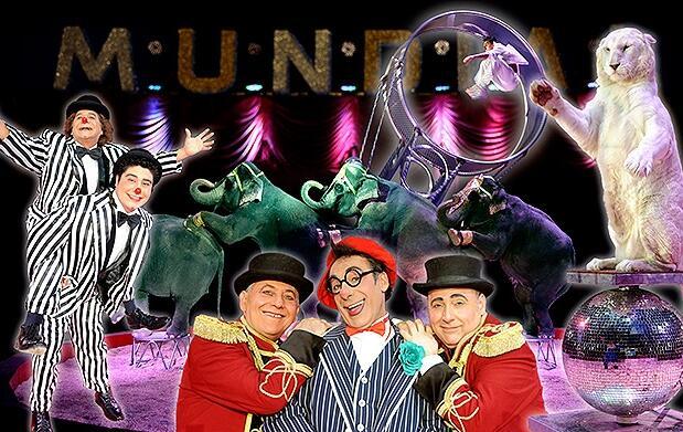 Gran Circo Mundial 28 septiembre