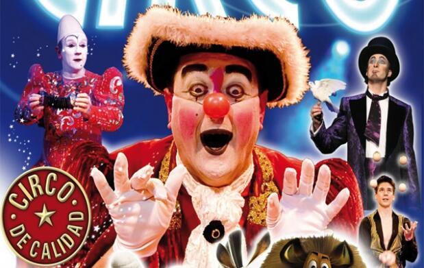 Ven al Circo Italiano: 13 y 14 octubre
