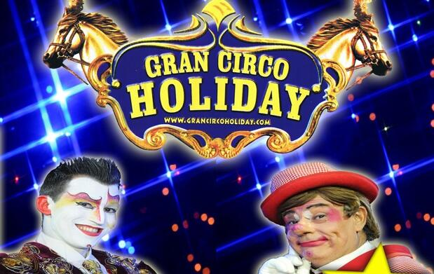 El 9 de junio todos al Gran Circo Holiday