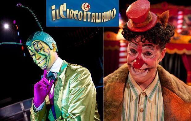 Ven al Circo Italiano: 12 octubre