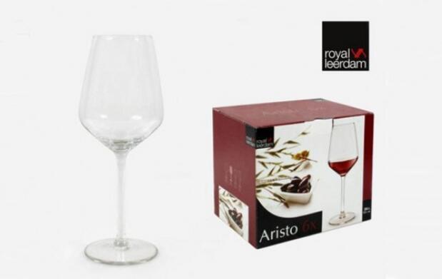 Caja de 6 copas de vino