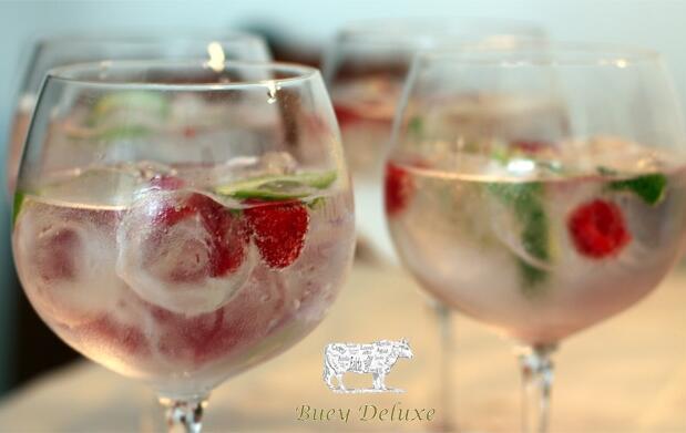 Menú maridaje Bueyguer&Gin Tonic de G´vine