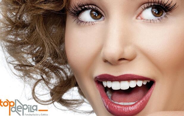 Blanqueamiento dental por luz LED