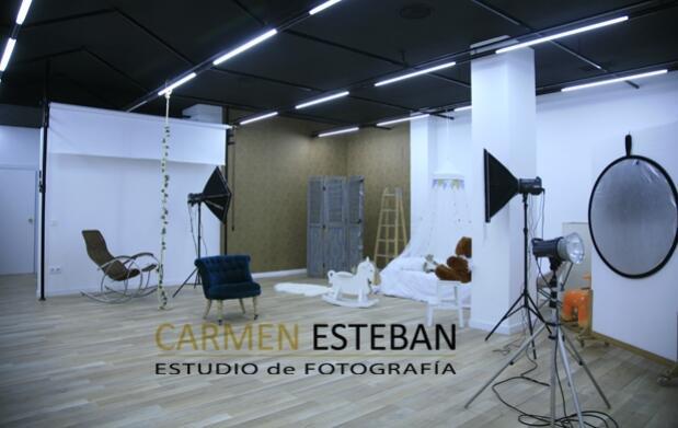 Sesión de estudio fotográfico