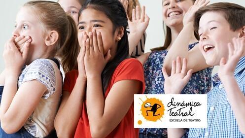 Cursos intensivos de teatro infantil y juvenil