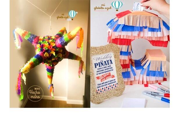 Piñatas mexicanas artesanas 3D para cualquier celebración