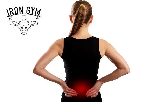 Espalda Sana en Iron Gym