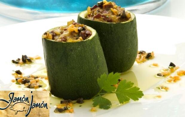 Exquisito y delicioso menú vegetariano