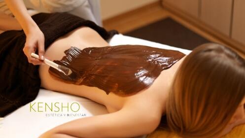 Envoltura relajante con calor + masaje