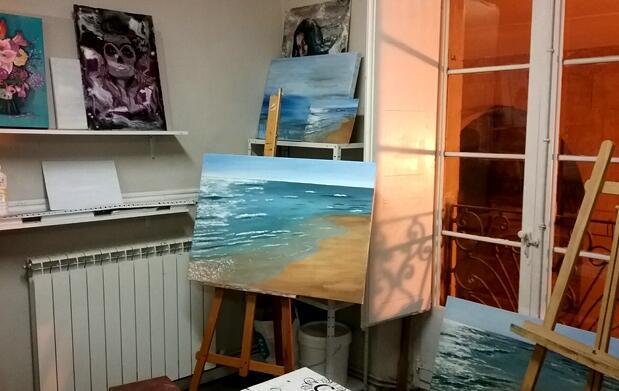 Ludoteca Pintura y artes Plásticas