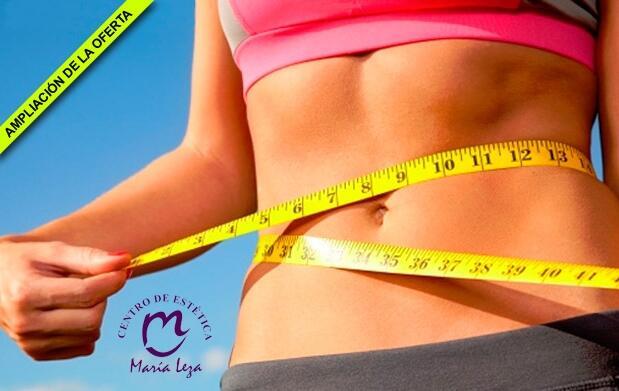 Pierde peso y moldea tu figura en Centro de Estética María Leza