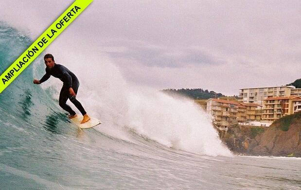 Curso de surf en Bakio