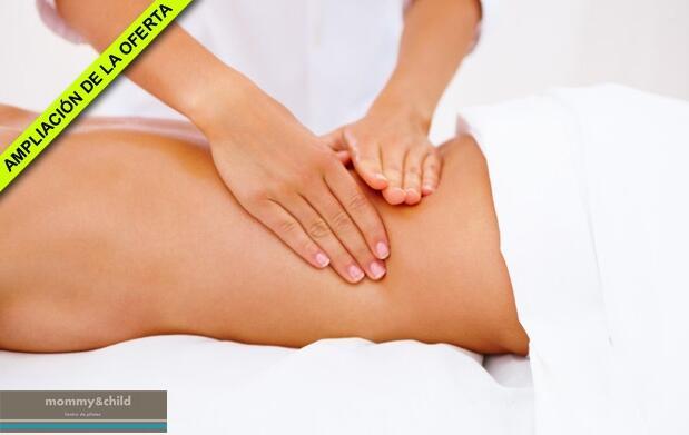Elige el masaje que necesitas