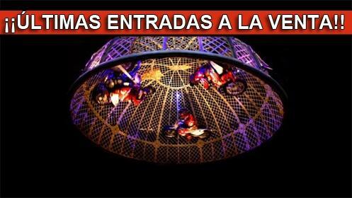 Entradas para el Gran Circo Mundial 20 septiembre. En palco, Butaca VIP
