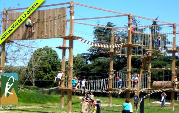 Descubre el Parque de Aventura Ojapark