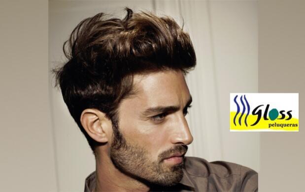 Sesión de peluquería para hombres