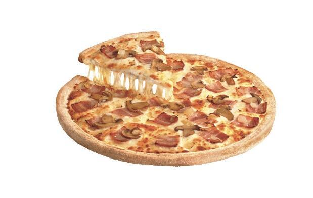 Pizza mediana 3 ingredientes por 5,95€