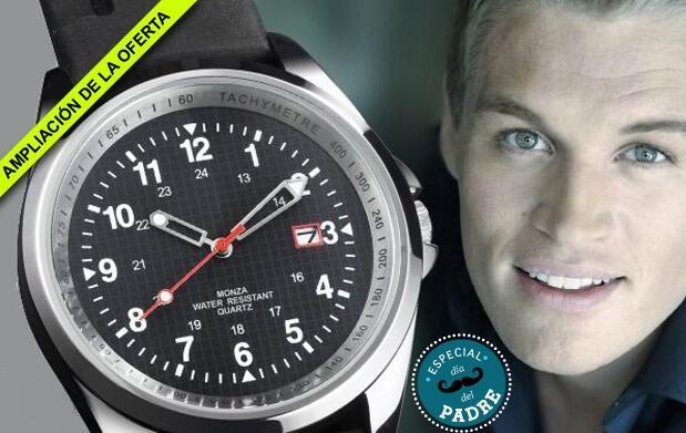 Consigue un exclusivo reloj Monza