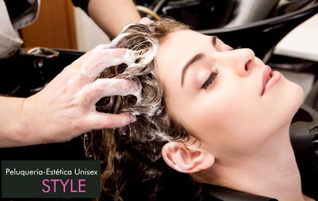 Sesión completa de peluquería para mujer ¡cuida tu cabello!