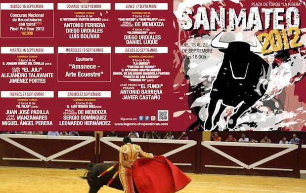 Entrada de Toros 22 septiembre, Logroño