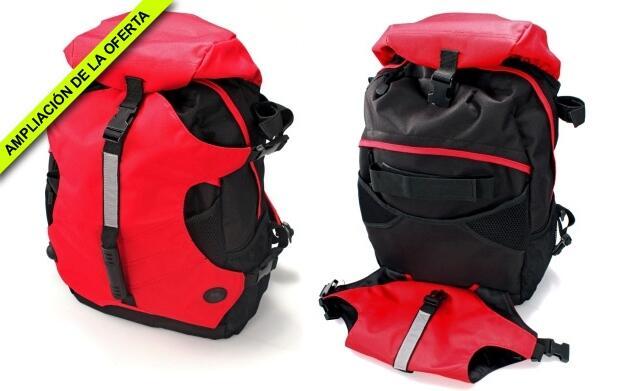 Set de Trekking: Mochila, bastón y kit de emergencia