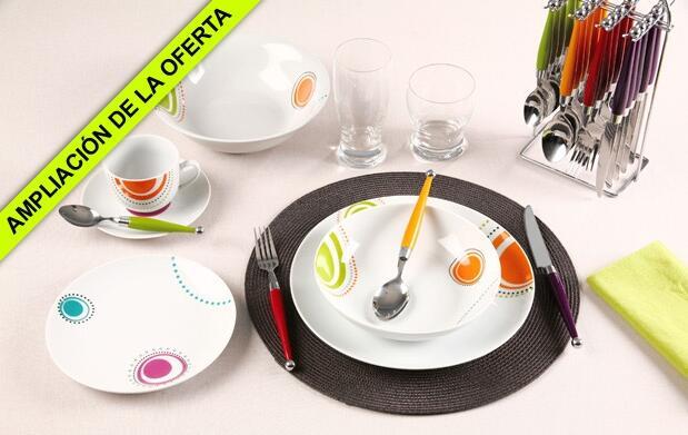 Viste de color tu mesa