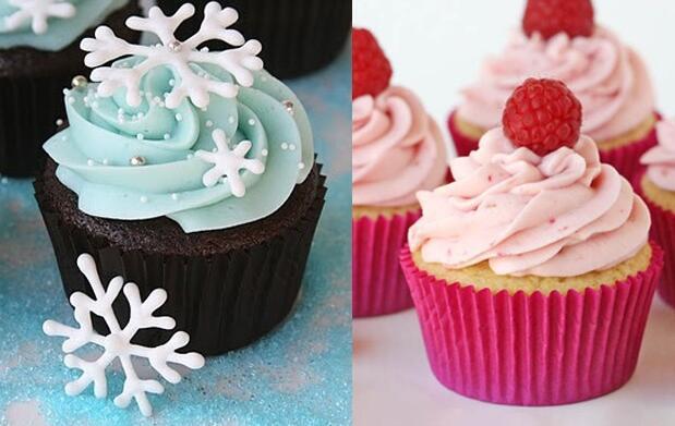 Taller Made in USA decoración de cupcakes