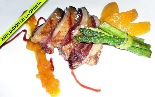 Menú en el Restaurante El Zarcillo