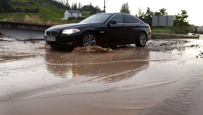 Agua y barro en Fuenmayor y Cenicero