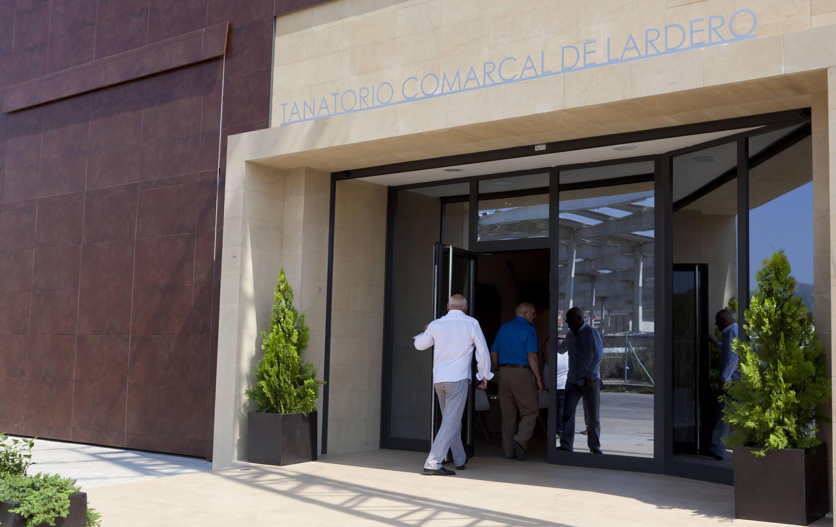 Inauguración del nuevo tanatorio de Lardero