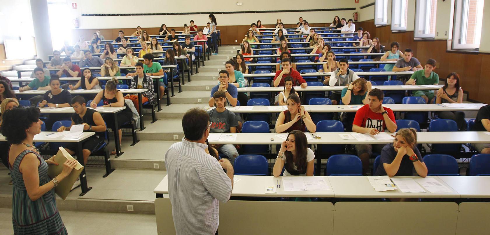 Selectividad julio 2013 en la Universidad de La Rioja