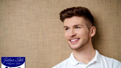 Sesión de peluquería para hombres, en Giulian´s Style